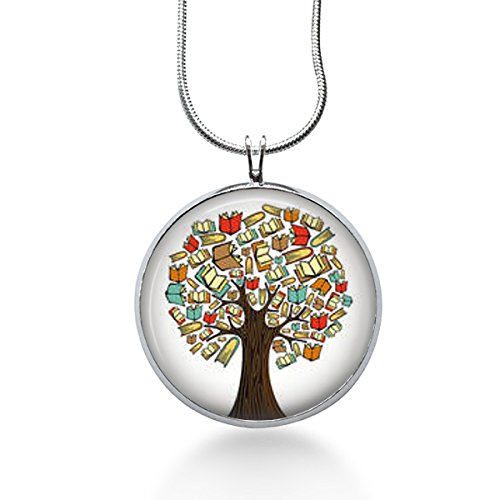 Book Tree necklace